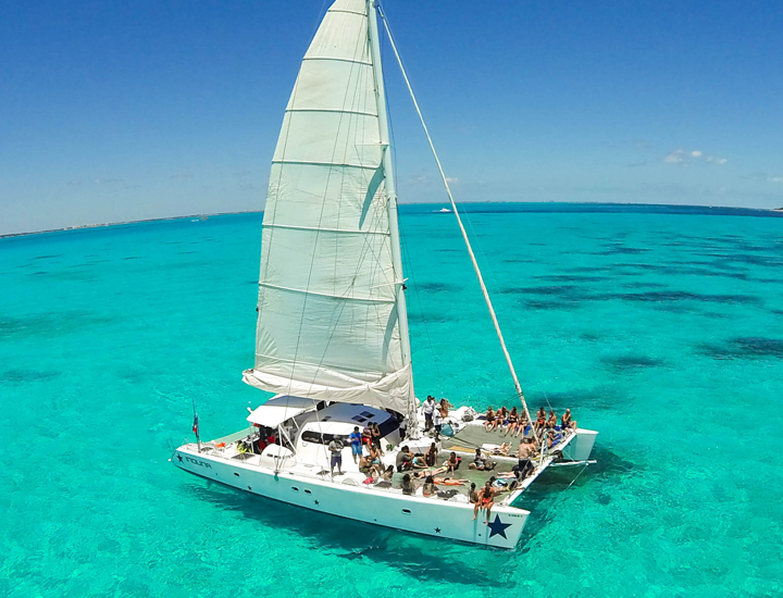 Cancun Catamaran - Cancun Catamaran Charters - Catamaran ...